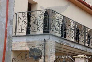 Кованные балконы в Киеве
