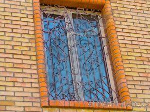 Кованные решетки в Киеве