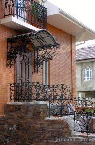 Кованные перила и ограждения в Киеве