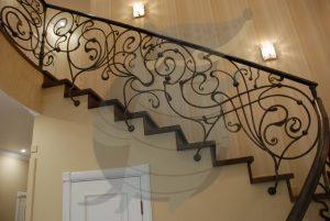 Кованные лестницы и перила в Киеве