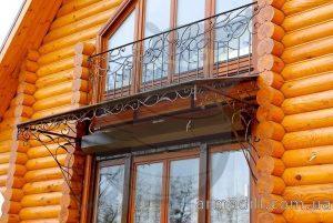 Кованные навесы в Киеве