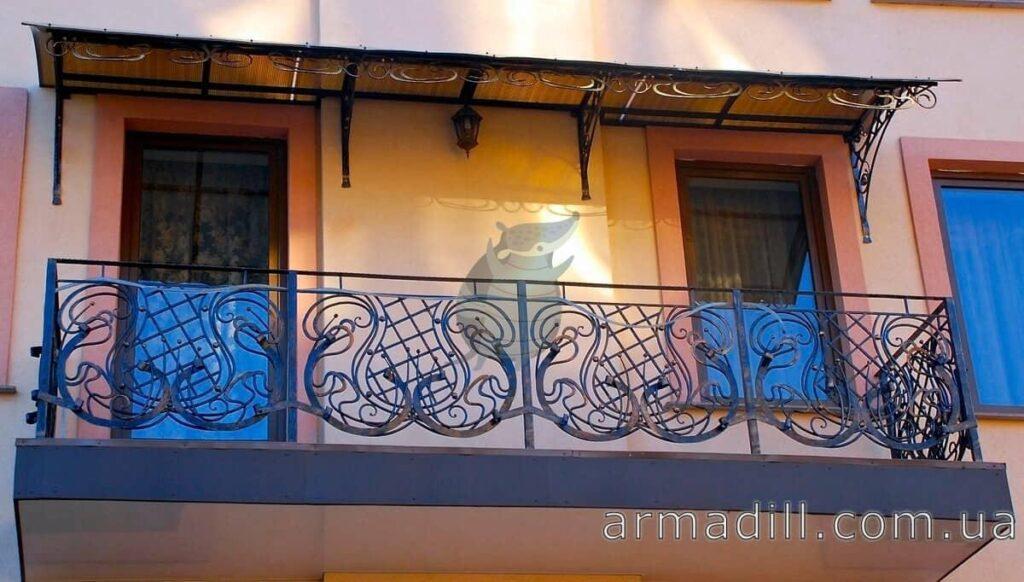 Ковані балкони фото #0001