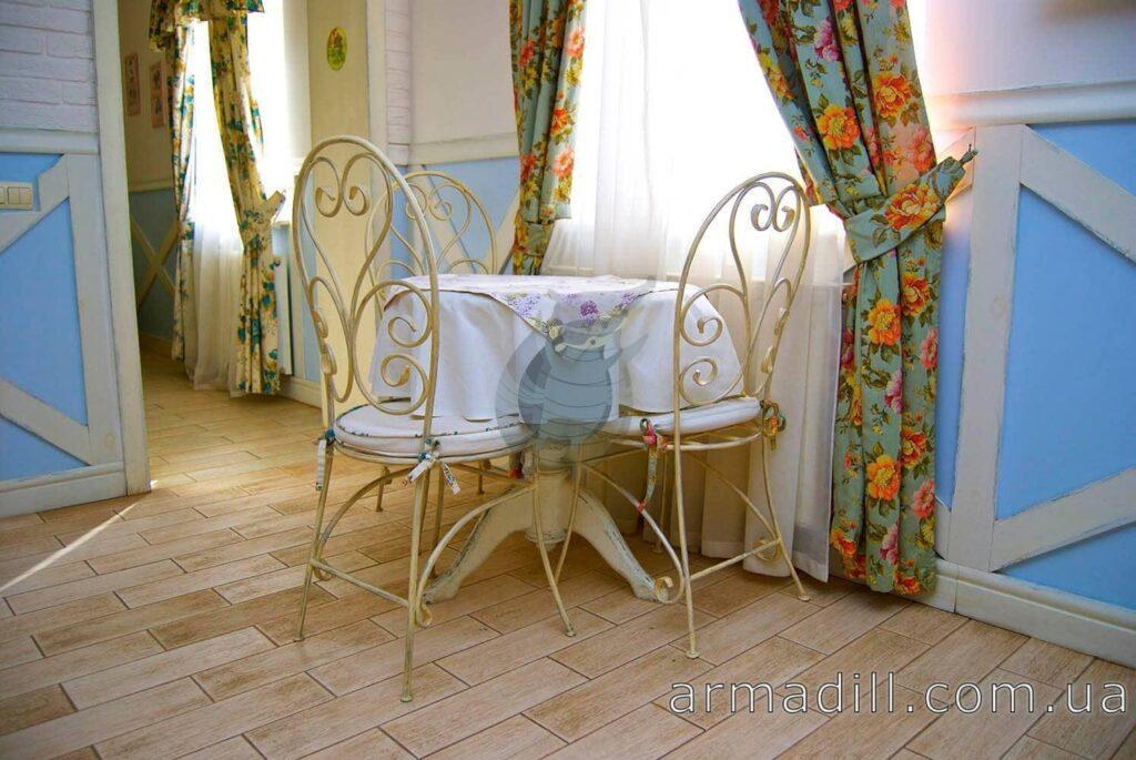 Кованые стулья: фото #0001